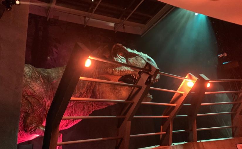 Jurassic World Exhibit!!!